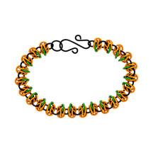 Anodized Aluminum Chainmaille Pumpkin Kit