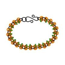Pumpkin Patch Chain Maille Bracelet Kit