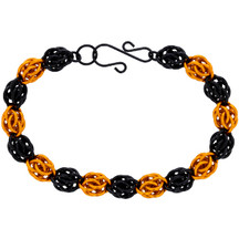 Sweetpea Boo! Halloween Chainmaille Bracelet