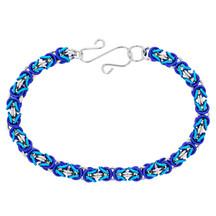 3 Color Byzantine Bracelet Kit - Winter Wonderland