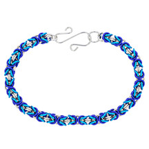 Winter Wonderland 3 Color Byzantine Bracelet Kit