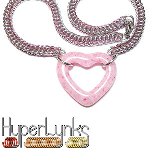 HyperLynks Half Persian Heart Necklace Kit
