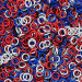 """Star Spangled Anodized Aluminum Mixes - 16 Gauge (3/64"""" or 1.2mm) - AWG Imperial"""