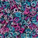 """Cotton Candy Anodized Aluminum Mixes - 16 Gauge (3/64"""" or 1.2mm) - AWG Imperial"""