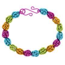 Jelly Bean Sweetpea Chainmaill Bracelet Kit