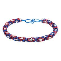 3 Color Anodized Aluminum Byzantine Bracelet Kit - Liberty