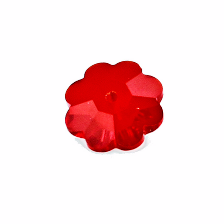 Swarovski 3700 6mm Marguerite Crystals - Red Siam