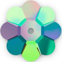 Swarovski 3700 Marguerite Crystals - Vitrial - 12 pieces