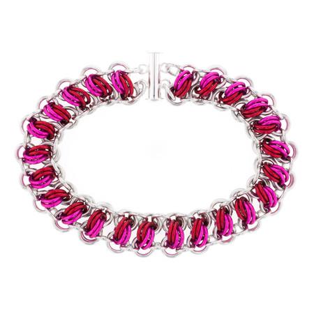 Lovestruck - Catwalk Chainmaille Bracelet Kit By Emily Fiks