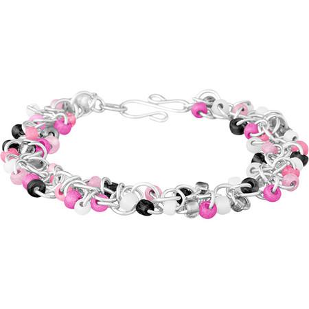Pink Camo Shaggy Loops Bracelet Kit