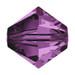 Amethyst 5mm Swarovski® Crystal Bicones (5328)