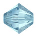Aqua Marine 5mm Swarovski® Crystal Bicones (5328)