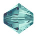 Blue Zircon 5mm Swarovski® Crystal Bicones (5328)