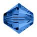 Capri Blue 5mm Swarovski® Crystal Bicones (5328)