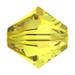 Citrine 5mm Swarovski® Crystal Bicones (5328)