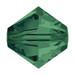 Emerald 5mm Swarovski® Crystal Bicones (5328)