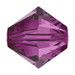 Fuchsia 5mm Swarovski® Crystal Bicones (5328)