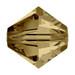 Light Colorado Topaz 5mm Swarovski® Crystal Bicones (5328)