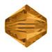 Topaz 5mm Swarovski® Crystal Bicones (5328)