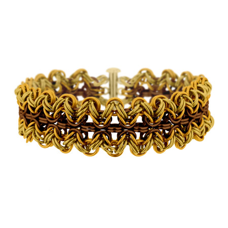 Honey Bunch Ric-Rac Chainmaille Bracelet Kit