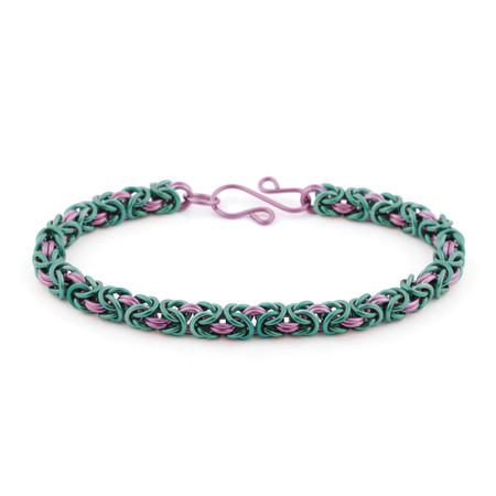 Limited Edition Bloom Byzantine Bracelet Kit in Anodized Aluminum