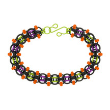 Frankenstein Beaded Helm Chain Maille Bracelet Kit By Emily Fiks