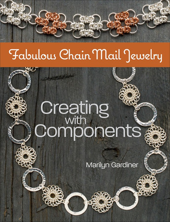 Create short segments of chain - components - and then combine these units with bead links and metal connectors to make 25+ projects.