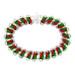Feliz Navidad Catwalk Chain Maille Bracelet Kit by Emily Fiks