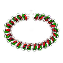 Feliz Navidad Catwalk Chainmaille Bracelet Kit