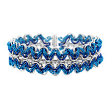 Let it Snow! Ric-Rac Chainmaille Bracelet Kit