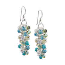 Aqua Mist Shaggy Loops Earrings Kit