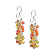 Tangerine Tango Shaggy Loops Earrings Kit