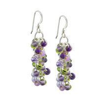 Lavender Fields Shaggy Loops Earrings Kit
