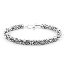 Silver Byzantine Bracelet Kit - Bright Aluminum