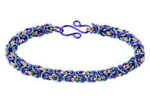 3-Color Enameled Copper Byzantine Bracelet Kit - Jeannie in a Bottle