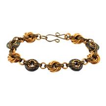 Gold Dust Inspiral Chain Maille Bracelet Kit