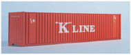 Walthers N Scale 40' Hi-Cube Intermodal Shipping Container K-Line