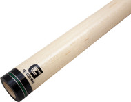 McDermott G-Core Pool/Billiard Cue Shaft - 3/8x10 - Silver & Green Rings - 12.25mm