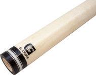 McDermott G-Core Pool/Billiard Cue Shaft - 3/8x10 -Silver/White/Silver- 12.75mm