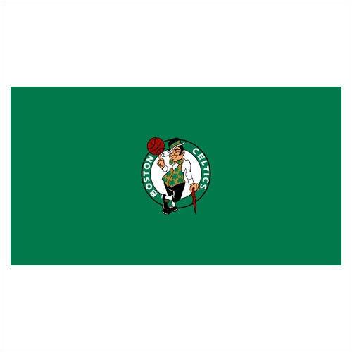 Nba Boston Celtics 8 Foot Worsted Billiards Pool Table Cloth Felt