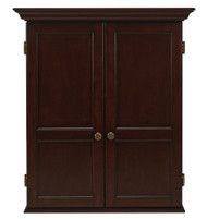 HJ Scott Windsor Dartboard Dart Board Cabinet - Expresso Finish