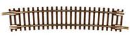 "Atlas N Scale Code 55 16.25"" Radius 1/2 Curve 6-Pack Model Train Track"