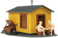 Atlas HO Scale Model Railroad Building Kit Trackside Shanty/Storage Shed