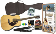 Yamaha Gigmaker Standard Acoustic F325 Guitar Starter Pack - Natural finish