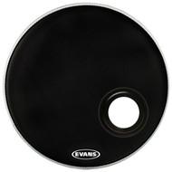"Evans REMAD Series BD20REMAD Resonant Single Ply 20"" Black Drumhead Drum Head"