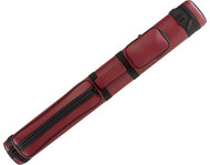 Pro Series BURGUNDY RED 2x2 2B2S Pool/Billiard Hard Oval Cue Stick Case (PR22VC)
