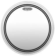 """Evans EC2 Series TT10EC2S Batter Two Ply 10"""" Clear Drumhead Drum Head"""