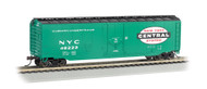 Bachmann HO Scale 50ft Plug-Door Boxcar New York Central/NYC (Jade Green)