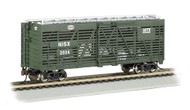 Bachmann HO Scale 40ft Stock Car New York Central/NYC