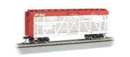Bachmann HO Scale 40ft Stock Car Canadian Pacific/CP Rail (White/Red) #277313